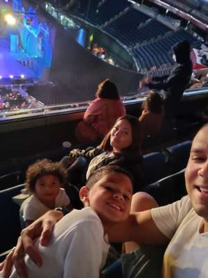Chris attended Disney on Ice Presents Mickey's Search Party on Sep 3rd 2021 via VetTix