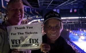 Dave attended Disney on Ice Presents Mickey's Search Party on Sep 3rd 2021 via VetTix