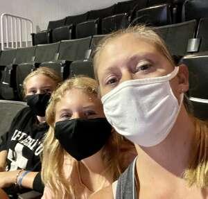 Justin attended Monster Jam on Sep 3rd 2021 via VetTix