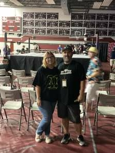 Syfor attended Iwf Wrestling and WWE Legends Present: Loud and Proud 24! (to Benefit American Cancer Society) on Aug 21st 2021 via VetTix