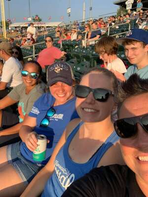 Lonni attended Omaha Storm Chasers vs. Columbus Clippers - MiLB - Military Appreciation Night W/ Fireworks! on Aug 19th 2021 via VetTix