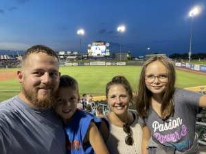 G Liermann attended Omaha Storm Chasers vs. Columbus Clippers - MiLB - Military Appreciation Night W/ Fireworks! on Aug 19th 2021 via VetTix