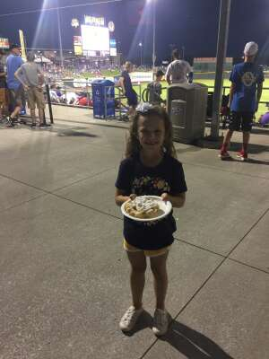 Mama & Mini attended Omaha Storm Chasers vs. Columbus Clippers - MiLB - Military Appreciation Night W/ Fireworks! on Aug 19th 2021 via VetTix