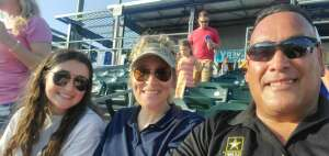 Jeff attended Omaha Storm Chasers vs. Columbus Clippers - MiLB - Military Appreciation Night W/ Fireworks! on Aug 19th 2021 via VetTix