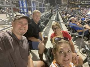 Rick K attended Omaha Storm Chasers vs. Columbus Clippers - MiLB - Military Appreciation Night W/ Fireworks! on Aug 19th 2021 via VetTix