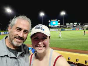 Chris attended Omaha Storm Chasers vs. Columbus Clippers - MiLB - Military Appreciation Night W/ Fireworks! on Aug 19th 2021 via VetTix