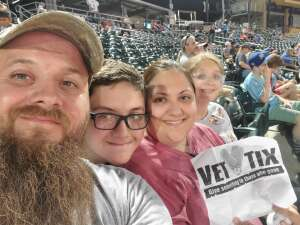 Donald attended Omaha Storm Chasers vs. Columbus Clippers - MiLB - Military Appreciation Night W/ Fireworks! on Aug 19th 2021 via VetTix