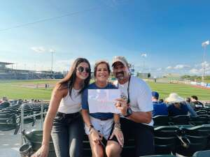 Amy Rogerson attended Omaha Storm Chasers vs. Columbus Clippers - MiLB - Military Appreciation Night W/ Fireworks! on Aug 19th 2021 via VetTix