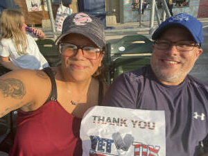 Michelle attended Omaha Storm Chasers vs. Columbus Clippers - MiLB - Military Appreciation Night W/ Fireworks! on Aug 19th 2021 via VetTix
