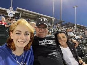 Darryl Armistead attended Omaha Storm Chasers vs. Columbus Clippers - MiLB - Military Appreciation Night W/ Fireworks! on Aug 19th 2021 via VetTix