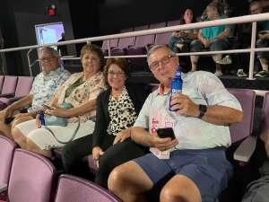 Grants attended The Beach Boys on Aug 13th 2021 via VetTix