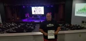 Bruce attended The Beach Boys on Aug 13th 2021 via VetTix