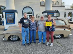 Kathy Letcher and friends  attended The Beach Boys on Aug 13th 2021 via VetTix