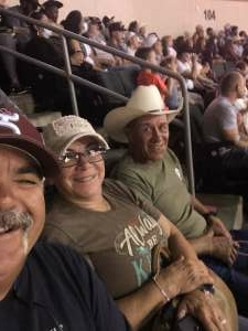 Kenny W attended Cedar Park Rodeo Presented by Michelob Ultra on Aug 14th 2021 via VetTix