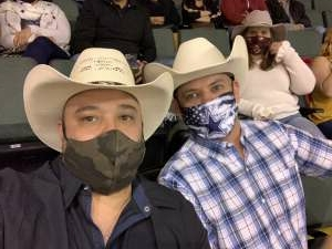 Robert  attended Cedar Park Rodeo Presented by Michelob Ultra on Aug 14th 2021 via VetTix