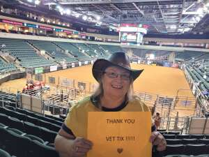 Carla attended Cedar Park Rodeo Presented by Michelob Ultra on Aug 14th 2021 via VetTix