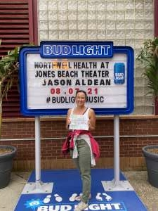 Tammy attended Jason Aldean: Back in the Saddle Tour 2021 on Aug 7th 2021 via VetTix