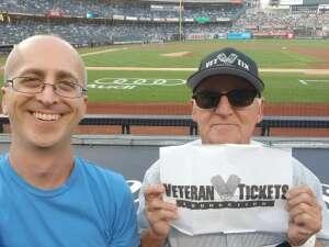 Eliot attended New York Yankees vs. Seattle Mariners - MLB - Premium Seating on Aug 6th 2021 via VetTix