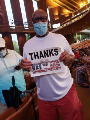 Arturo attended A Tribute to Marvin Gaye Featuring Raheem Devaughn and Friends on Aug 14th 2021 via VetTix