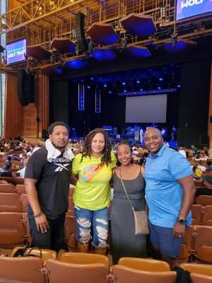 WDH attended A Tribute to Marvin Gaye Featuring Raheem Devaughn and Friends on Aug 14th 2021 via VetTix