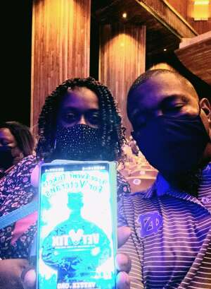 James K attended A Tribute to Marvin Gaye Featuring Raheem Devaughn and Friends on Aug 14th 2021 via VetTix