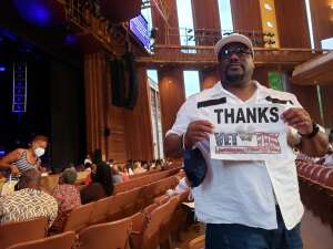 Reggie W. attended A Tribute to Marvin Gaye Featuring Raheem Devaughn and Friends on Aug 14th 2021 via VetTix
