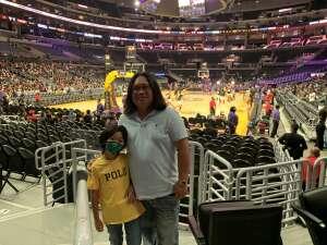 Manny attended LA Sparks vs. Atlanta Dream - WNBA on Aug 17th 2021 via VetTix