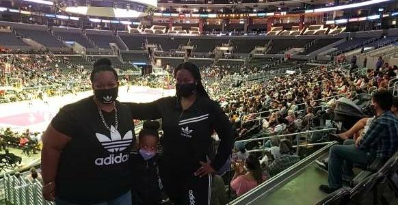 Shonda attended LA Sparks vs. Atlanta Dream - WNBA on Aug 17th 2021 via VetTix