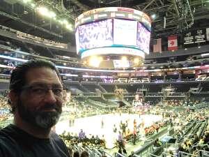 Adrien Sandoval  attended LA Sparks vs. Atlanta Dream - WNBA on Aug 17th 2021 via VetTix