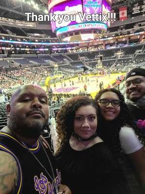 G. Santizo attended LA Sparks vs. Atlanta Dream - WNBA on Aug 17th 2021 via VetTix