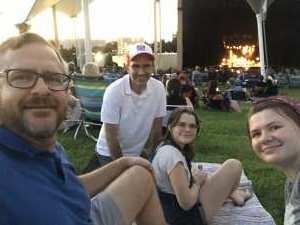 JB attended Harry Connick, Jr. And His Band - Time to Play! on Aug 21st 2021 via VetTix