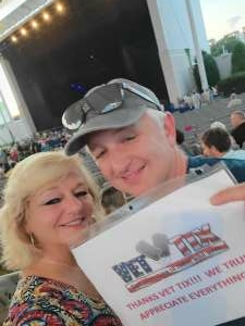 JulJoe87 attended Harry Connick, Jr. And His Band - Time to Play! on Aug 21st 2021 via VetTix