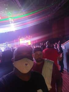 Wesley attended Byb Extreme Fighting Series Presents: Byb 7 Brawl by the River! -military and 1st Responder Appreciation Night! - Bare Knuckle Boxing on Sep 11th 2021 via VetTix