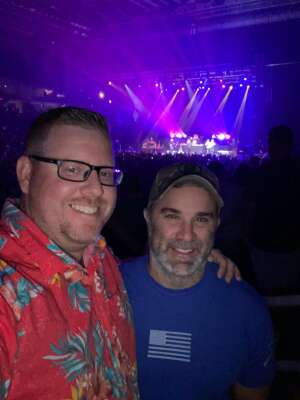 David Morris attended Hank Williams Jr. on Aug 14th 2021 via VetTix