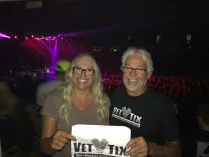 John and Micky attended Hank Williams Jr. on Aug 14th 2021 via VetTix