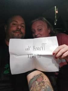 Wayne attended Hank Williams Jr. on Aug 14th 2021 via VetTix