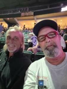 John attended Hank Williams Jr. on Aug 14th 2021 via VetTix