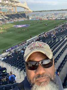George Berry attended Philadelphia Union vs. New York City FC - MLS on Aug 18th 2021 via VetTix