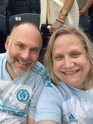 Todd  attended Philadelphia Union vs. New York City FC - MLS on Aug 18th 2021 via VetTix