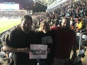 Bill White attended Philadelphia Union vs. New York City FC - MLS on Aug 18th 2021 via VetTix