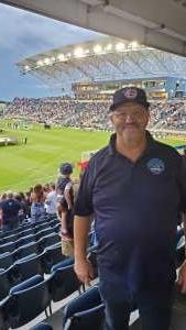 Gary attended Philadelphia Union vs. New York City FC - MLS on Aug 18th 2021 via VetTix