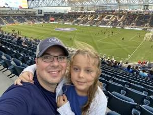 John attended Philadelphia Union vs. New York City FC - MLS on Aug 18th 2021 via VetTix