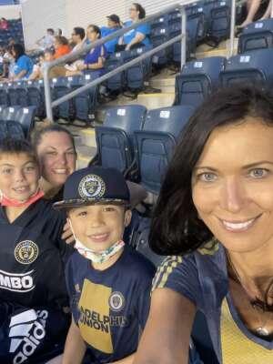 Kelly attended Philadelphia Union vs. New York City FC - MLS on Aug 18th 2021 via VetTix