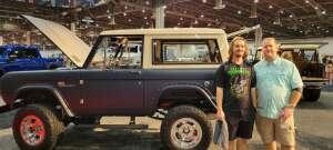 Bill attended Barrett-jackson 2021 Houston Auction on Sep 18th 2021 via VetTix