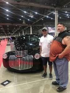 Cesar Garza attended Barrett-jackson 2021 Houston Auction on Sep 18th 2021 via VetTix
