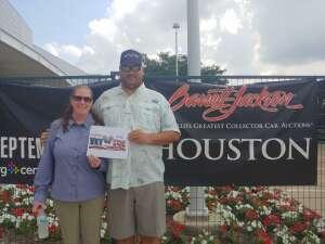 Kevin Morain attended Barrett-jackson 2021 Houston Auction on Sep 18th 2021 via VetTix