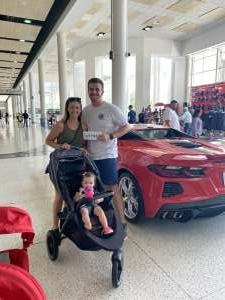 Kyle attended Barrett-jackson 2021 Houston Auction on Sep 18th 2021 via VetTix