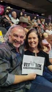 Vic & D attended George Strait on Aug 14th 2021 via VetTix