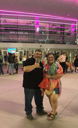 1SGT Vallejos attended George Strait on Aug 14th 2021 via VetTix