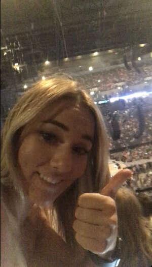 Carah attended Blake Shelton: Friends & Heroes on Aug 18th 2021 via VetTix